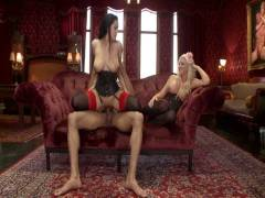 The Upper Floor: Alpha Coitus in ano Slave Teaches Her Bitch To Service Hard Penni
